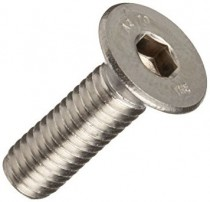 Countersunk Socket Screw DIN 7991 Stainless Steel A2