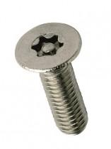 Countersunk 6-Lobe Pin Machine Screw A2