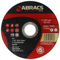 ABRASIVES AND CUTTING PRODUCTS