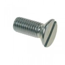 Countersunk Slotted Machine Screws BZP