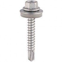 Hex Head Self Drill Screw Light Section Steel BZP