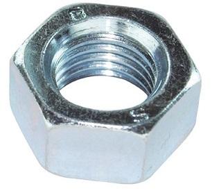 M5 Hex Full Nut Steel 8.8 BZP