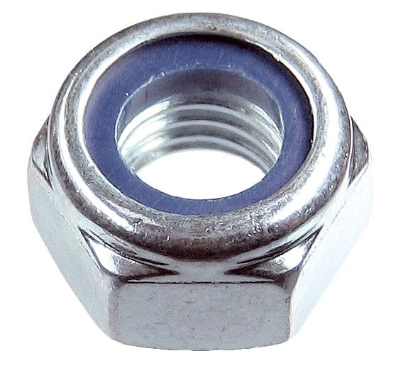 M6-1.0P Nylock Nut T Type 8.8 BZP