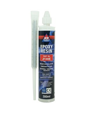 JCP Pure Epoxy Red Resin 375ml
