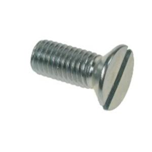 M5 x 12mm Csk Slotted MC BZP