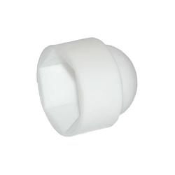 M12 Nut Cap Plastic White