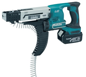 Makita DFR550RMJ Autofeed Screwdriver 18v