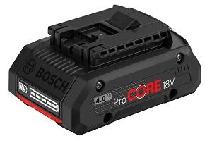 Bosch PRO ProCORE 4.0 AH Li-ion Battery 18v