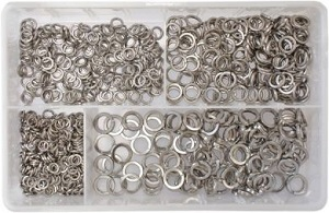 Assortment Box - Sq Sect. Spring Washers A2